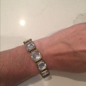 C+I Bridal Crystal bracelet